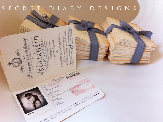 Wedding Invitations Wedding Stationery South Africa – Passport Wedding Invites