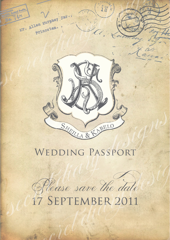 Wedding invitations wedding stationery south africa for Secret design