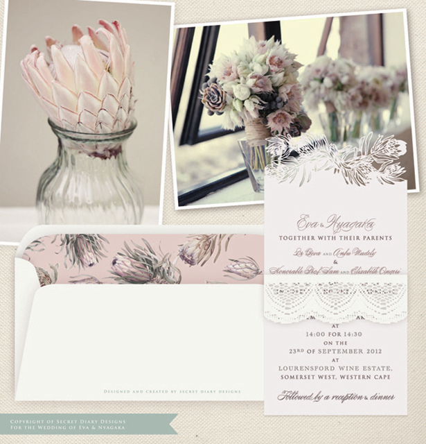 Lasercut-invitations-Secret-Diary-Designs-protea