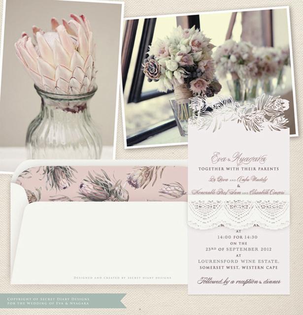 Lasercut-invitations-Secret-Diary-Designs-protea