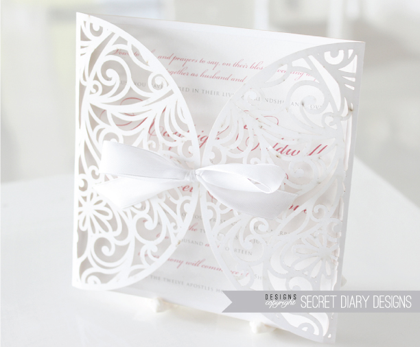 Wedding invitations wedding stationery south africa secret the kaleigh invite stopboris Images