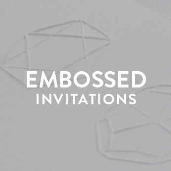 Embossed Invitations