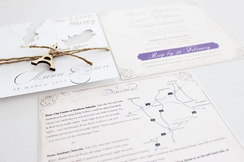 K'Mich Weddings - wedding planning - wedding invitations -secret diary