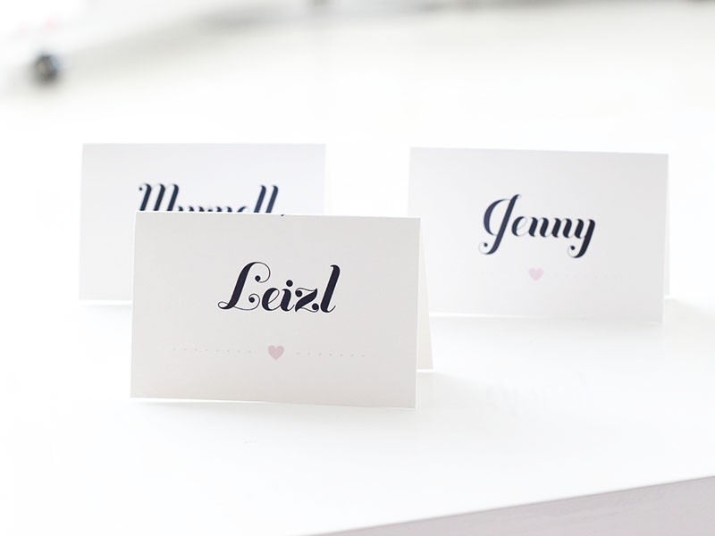 Quirky-placecards