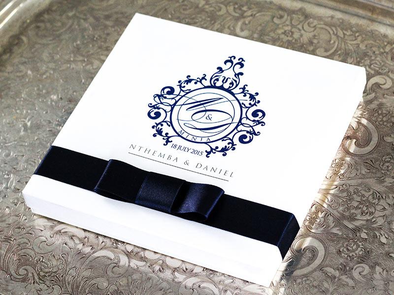 wedding invitations wedding stationery south africa With box wedding invitations south africa