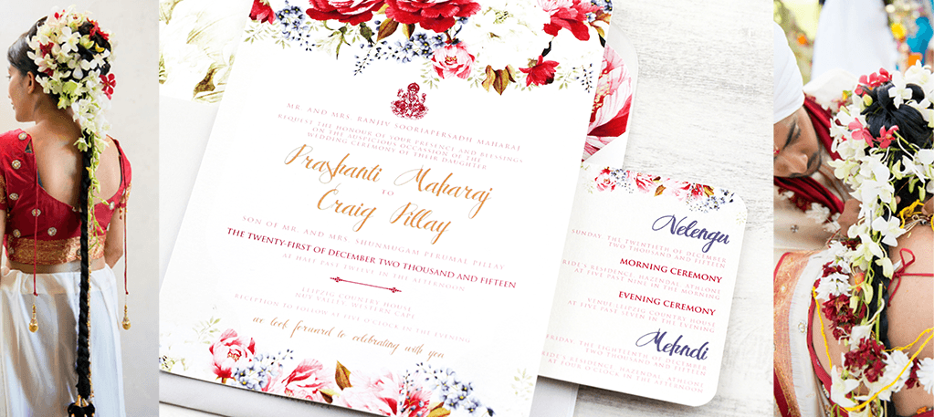 Wedding & Stationery feature | Prashanti and Craig