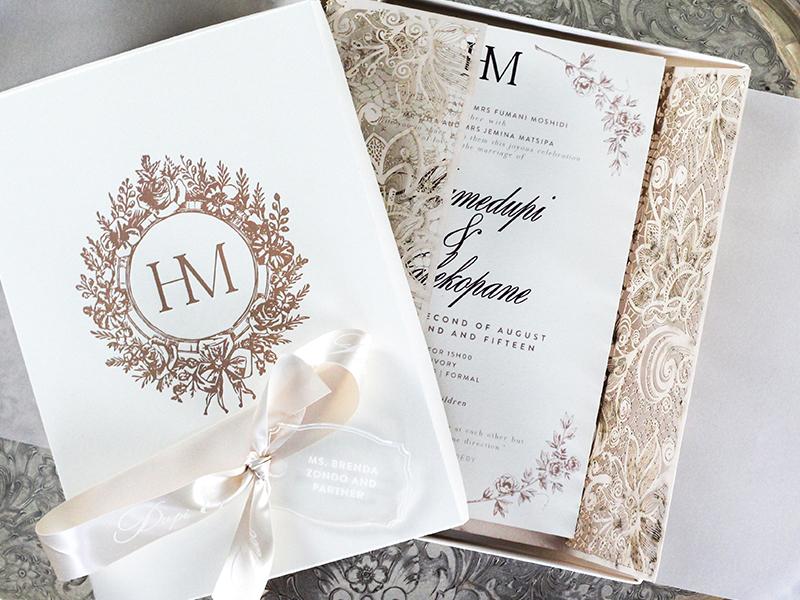 Wedding Gift Boxes In Johannesburg : Wedding Invitations Wedding Stationery South Africa Secret Diary ...