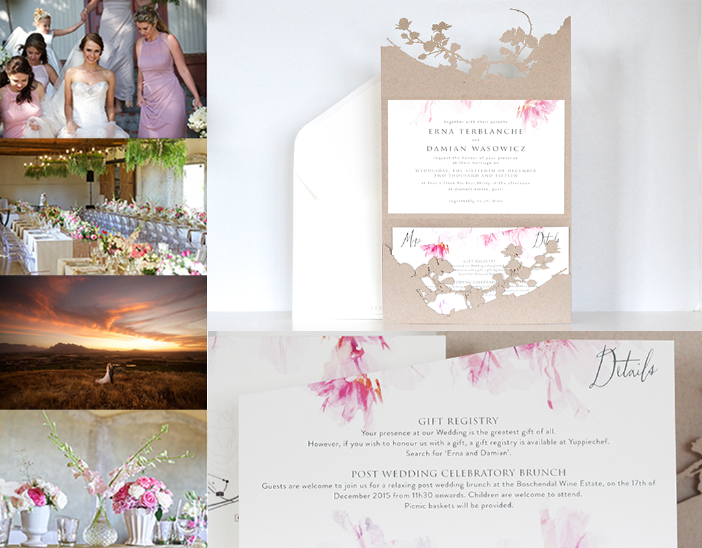 Love & Light Invitation - Erna & Damian