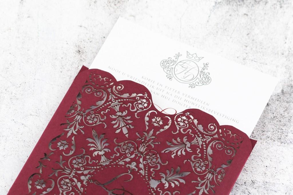 SDI-6418_3 | Secret Diary | Whisper Invite | Burgandy