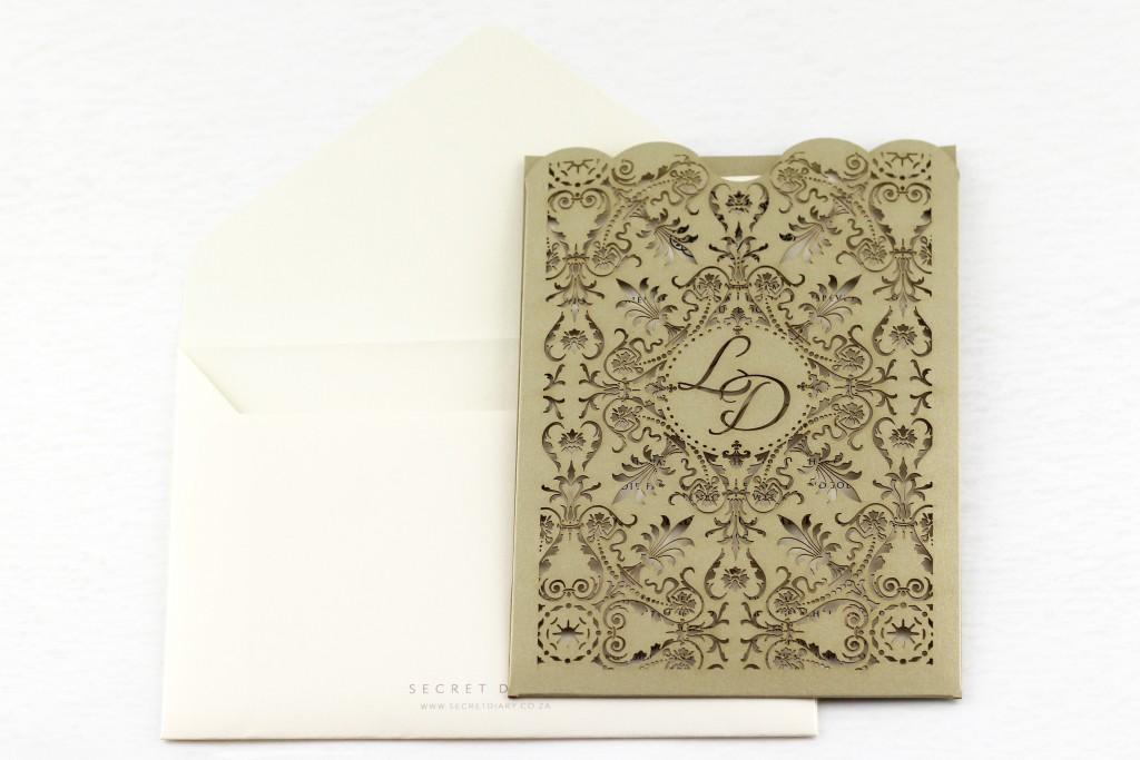 SDI-6422_1 | Secret Diary | Whisper Invite | Gold