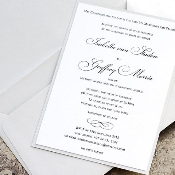Blanca Invitation