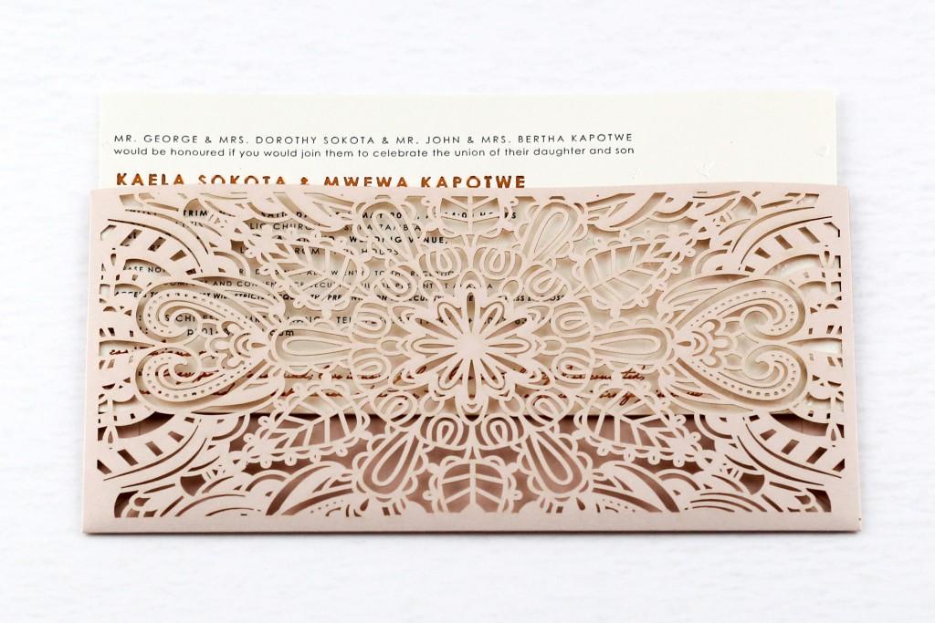 Rosie Pocket Invitation | www.secretdiary.co.za | Secret Diary