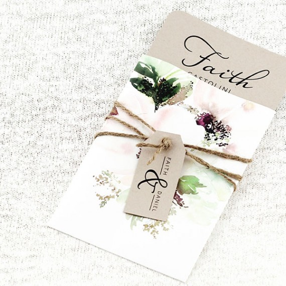 Chloe Pocket Invitation
