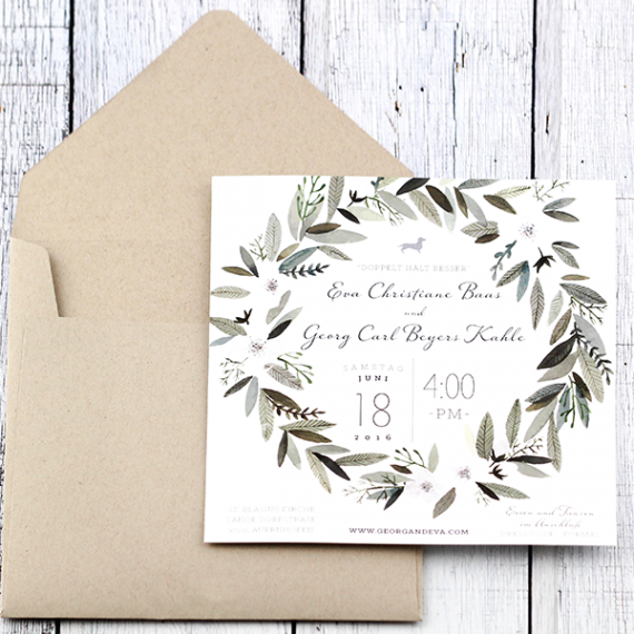 Sweet Sage Invitation