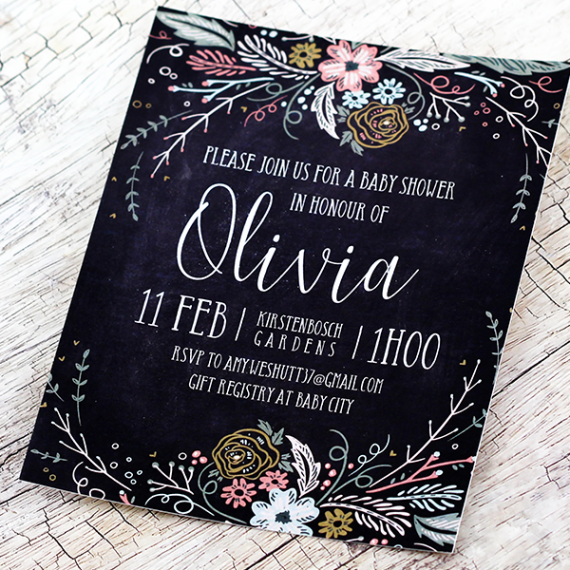 Olivia's Garden Invitation
