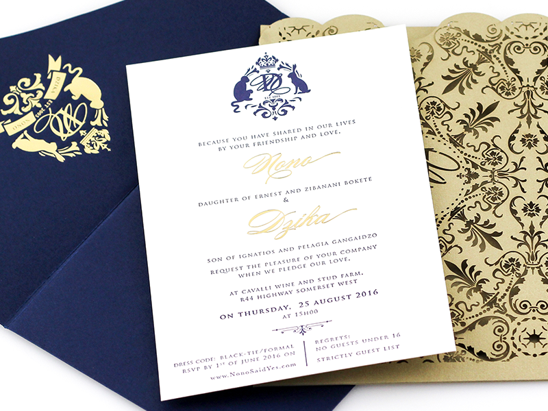 Whisper Pocket Invitation Royal Edition