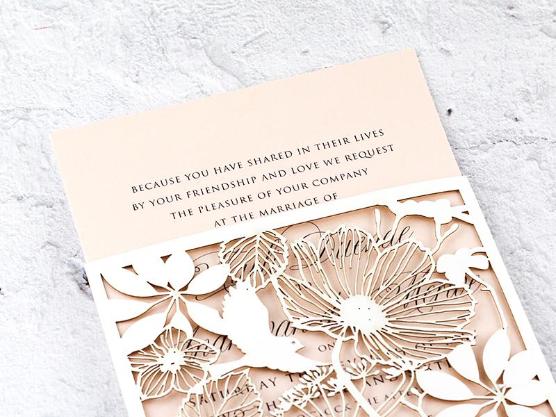 K'Mich Weddings - wedding planning - Laser cut - Secret Diary