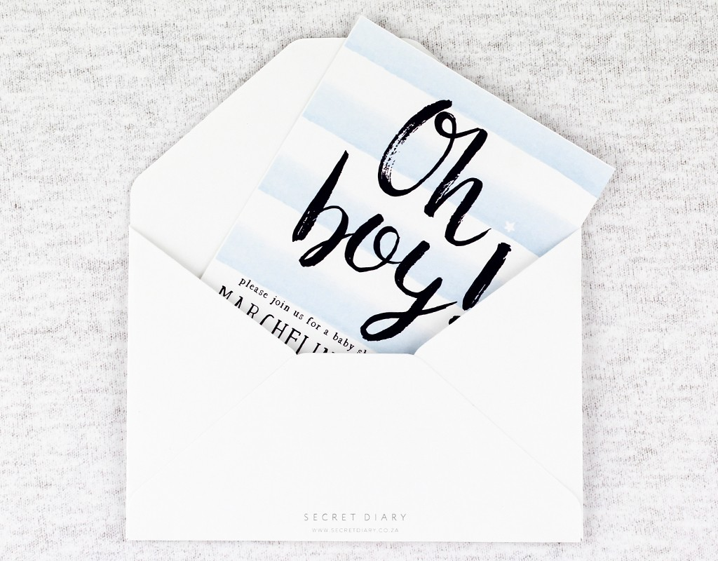 Baby Shower | www.secretdiary.co.za | stars-and-stripes-invitation