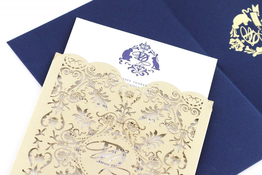 Stylish in Navy | www.secretdiary.co.za | Whisper Pocket Invite