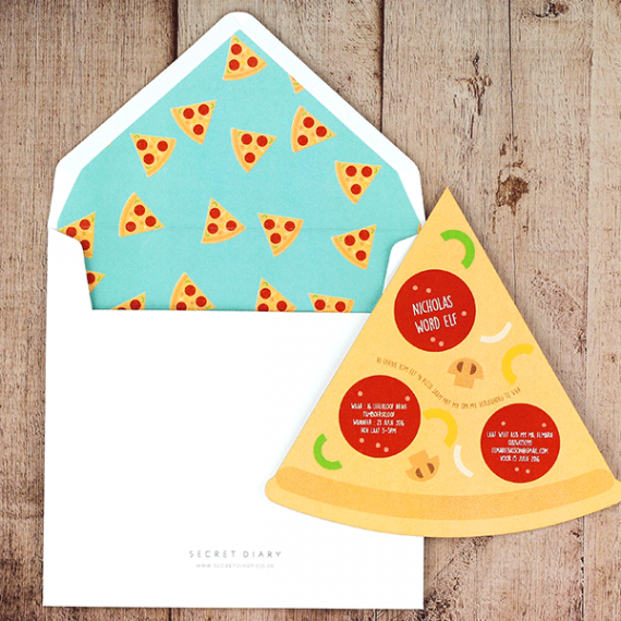 Pepperoni Invitation