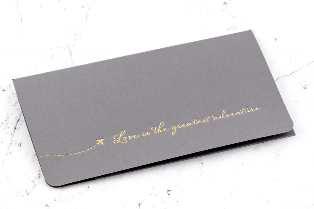 www.secretdiary.co.za | Love Is The Greatest Adventure - Boarding Pass Invitation | SDI-6620