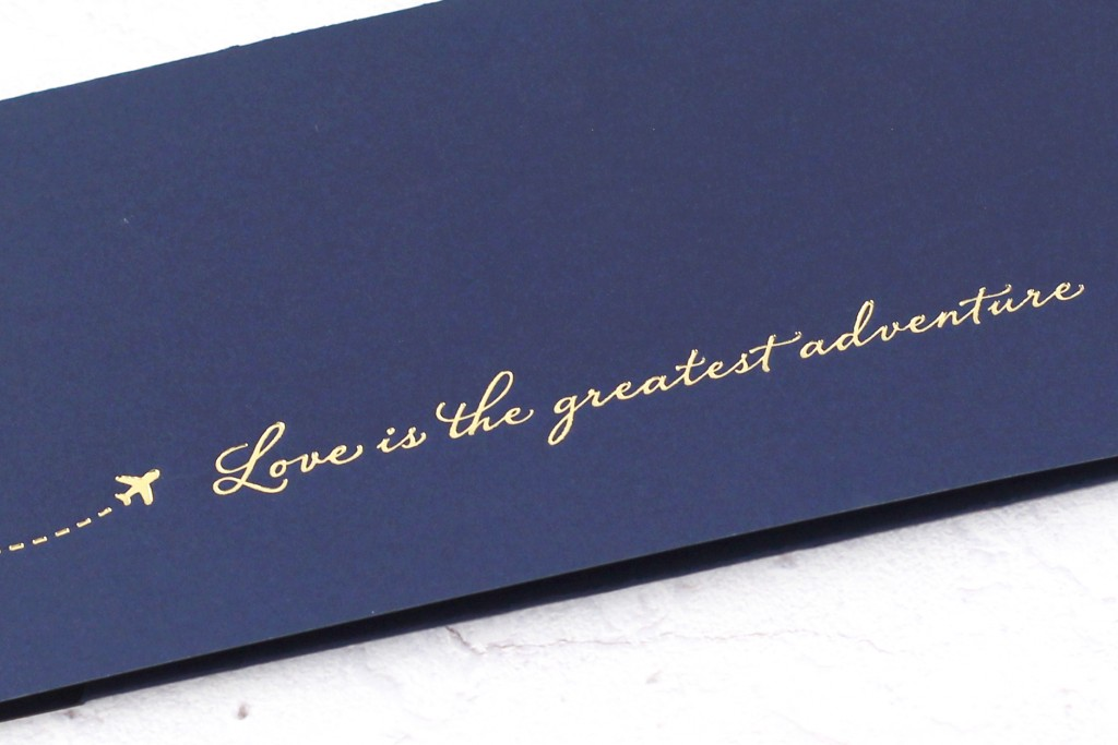 www.secretdiary.co.za | Love Is The Greatest Adventure - Boarding Pass Invitation | SDI-6622