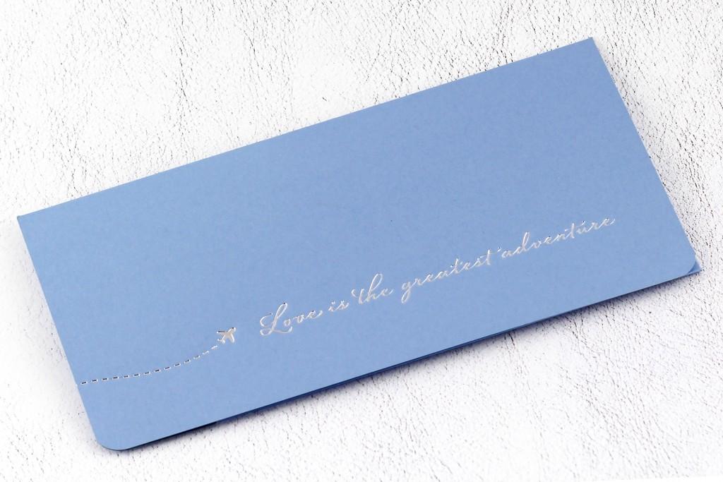 www.secretdiary.co.za | Love Is The Greatest Adventure - Boarding Pass Invitation | SDI-6625
