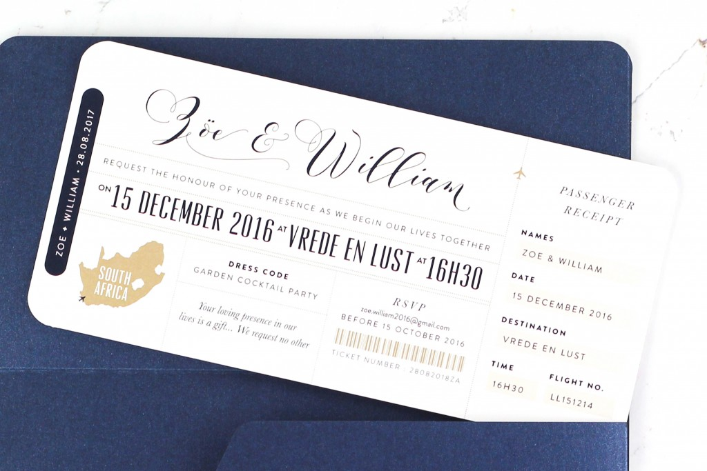 www.secretdiary.co.za | Our Love Travels - Boarding Pass Invitation | SDI-6634