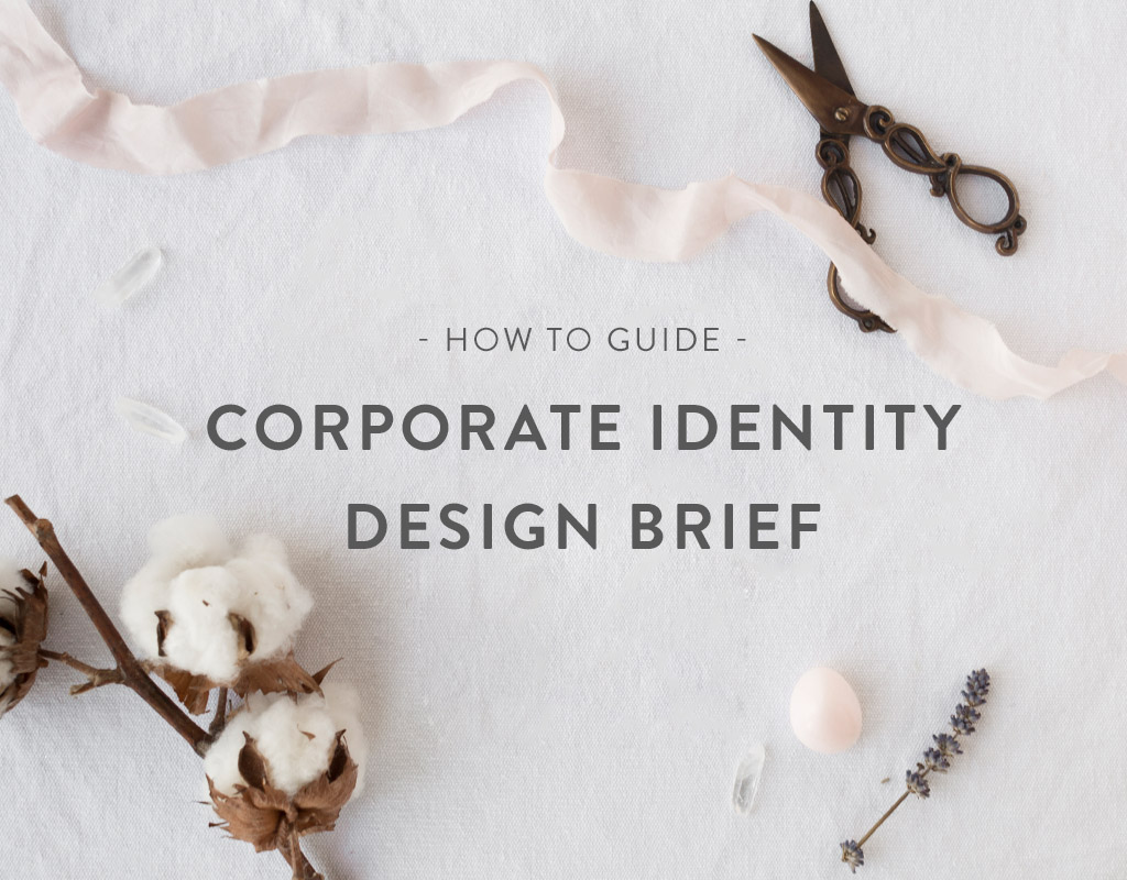 How to: Corporate ID design brief
