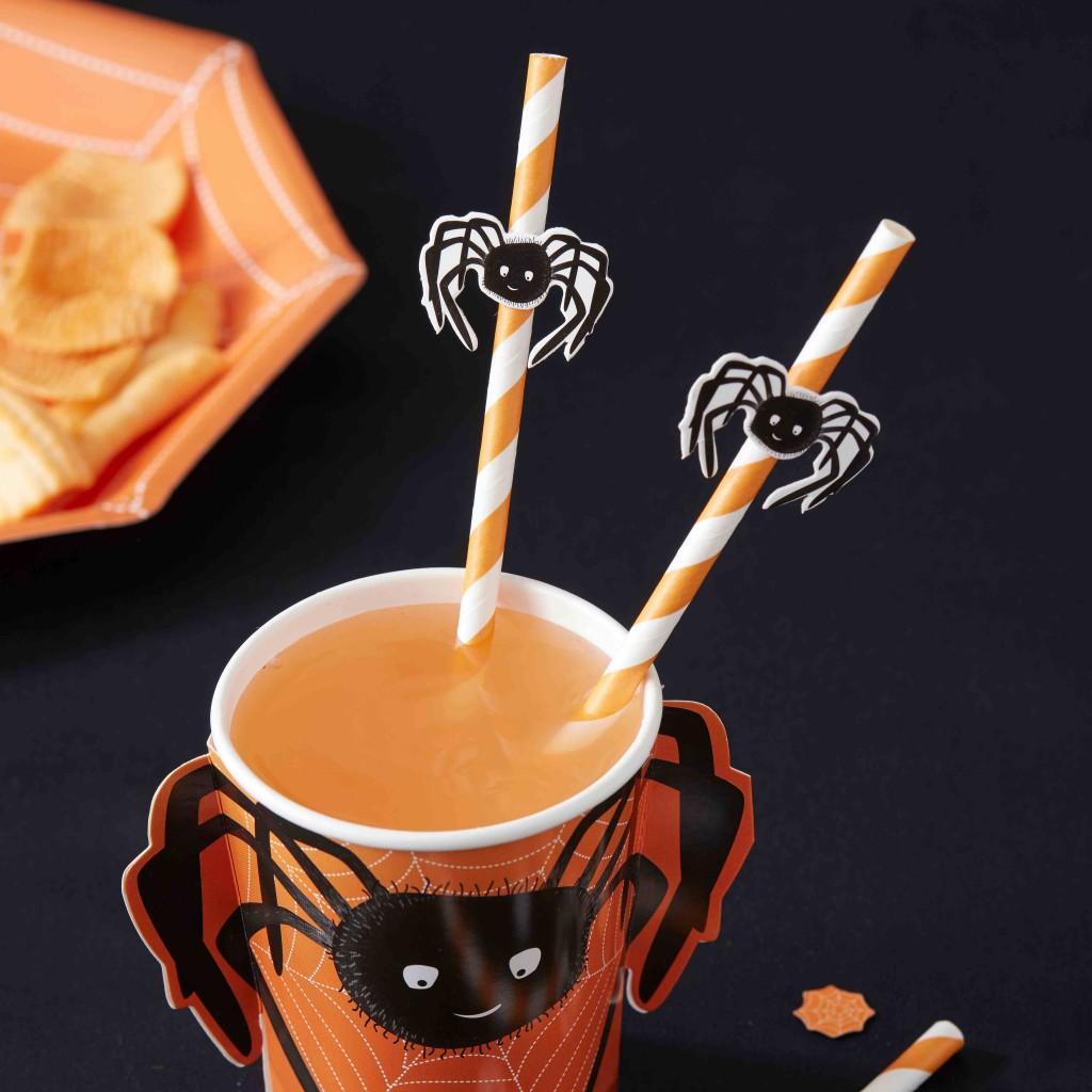 Spooky Spider Straws | www.shopsecretdiary.co.za | SDI-7207