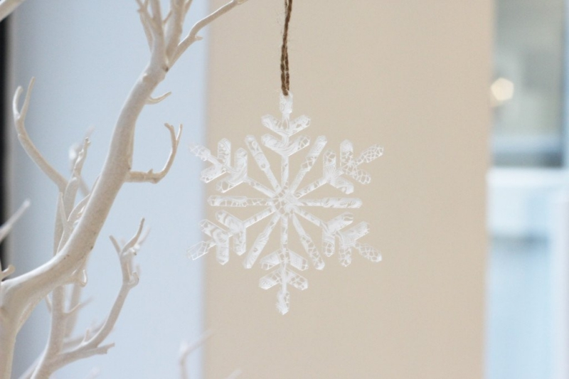 Lace Perspex Snow Flake | www.secretdiary.co.za