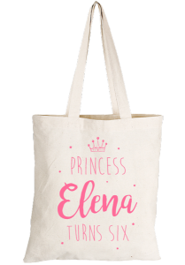 Princess Party Tote Bag | www.secretdiary.co.za