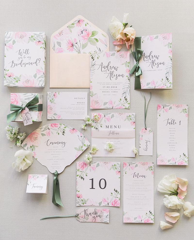 Debenhams Wedding Service Gift List Number: Wedding Invitations