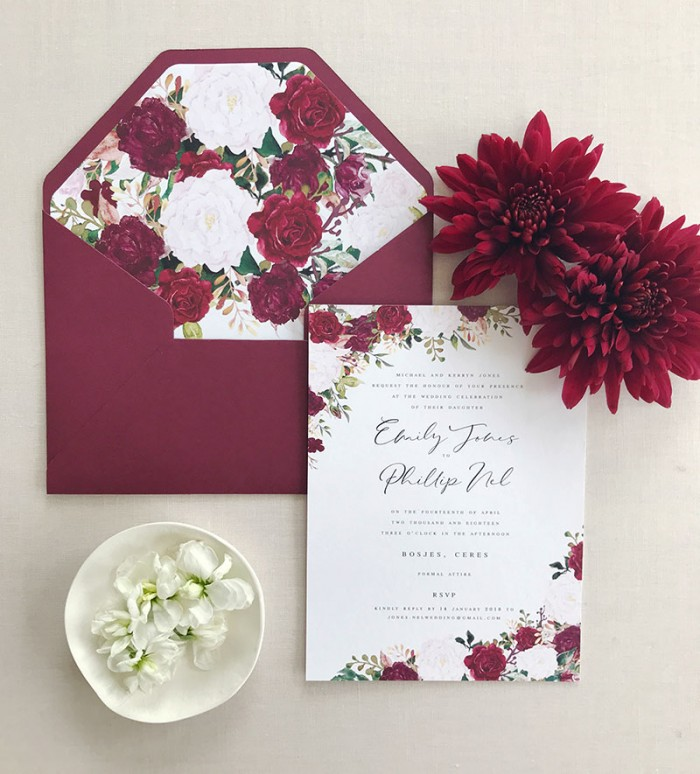 Burgundy-Botanica-Invite