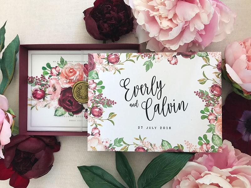 Burgundy-Bouquet-Invitation