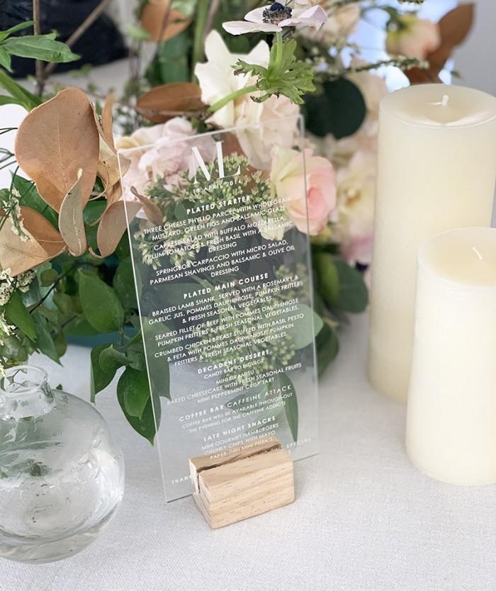 Acrylic-engraved-menu