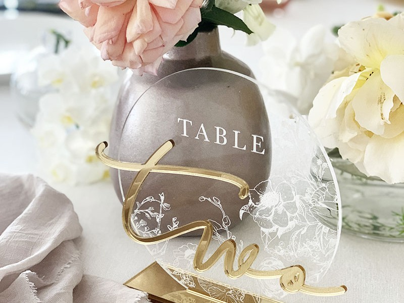 Engraved-Acrylic-Table-Number