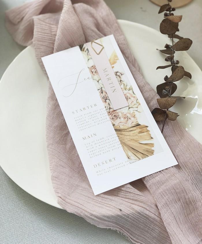Pale-Spring-Menu-Name-Card