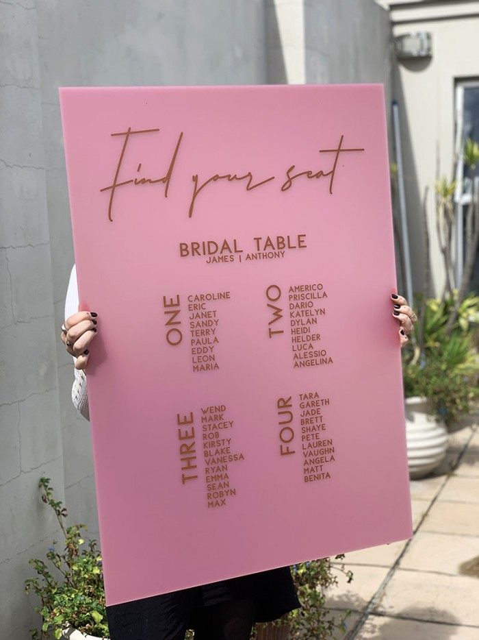 Pretty-In-Pink-acrylic-seating-plan