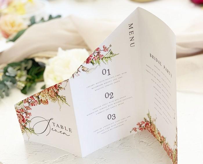 Hyacinth-Table-Number-menu