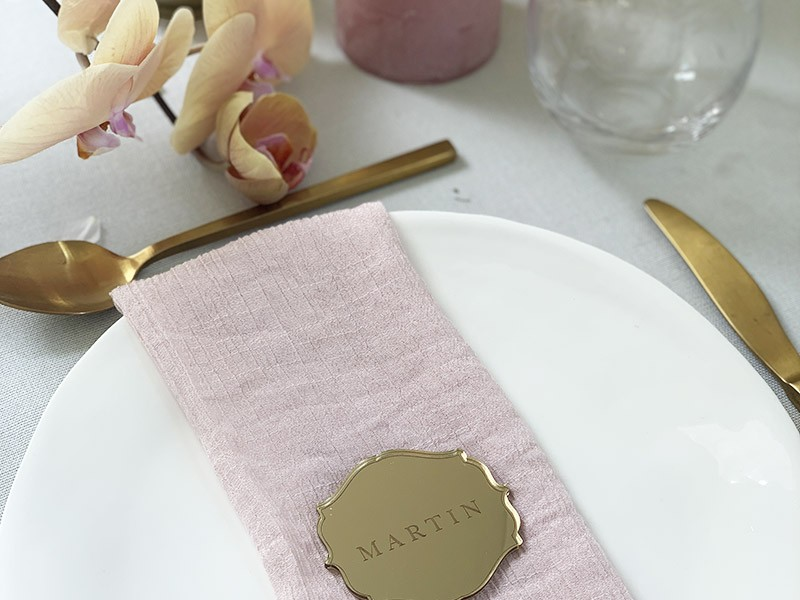 Pale-Spring-Gold-Acrylic-Name-Tag