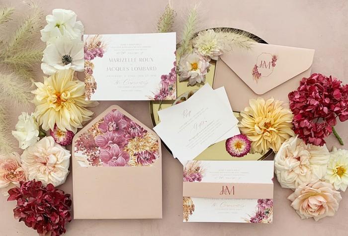 Boho-Orchid-invitation