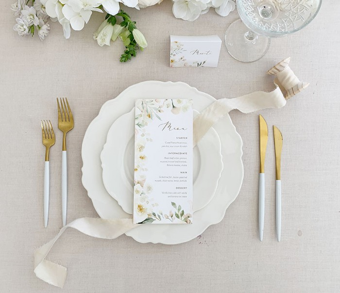 Floral-Menu-and-place-card