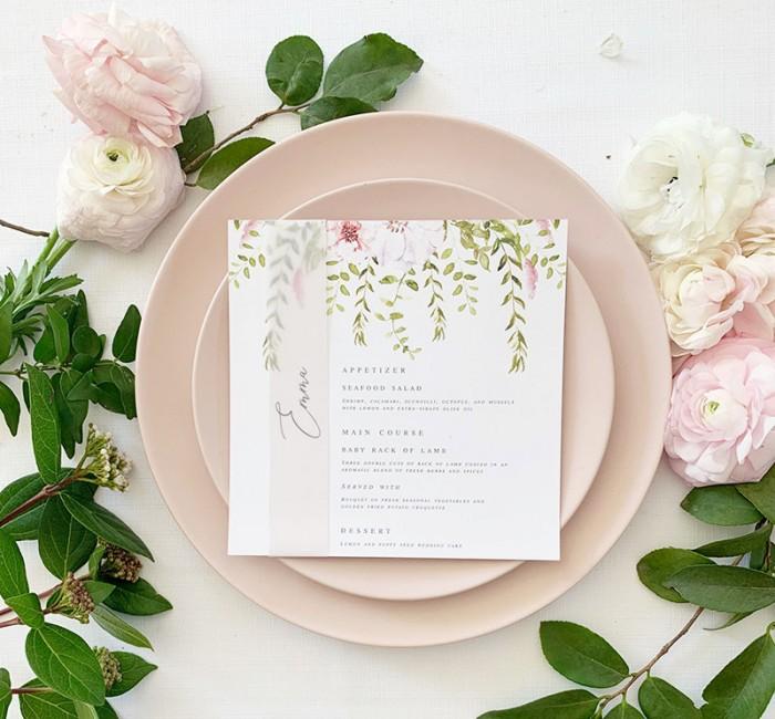 Forest-Fairytale-square-menu-vellum-nametag
