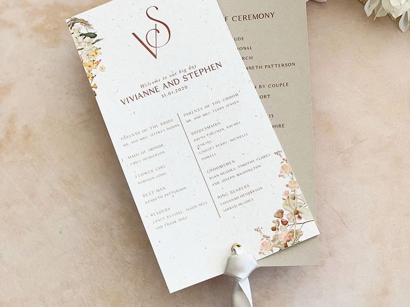 Vivi-wedding-program