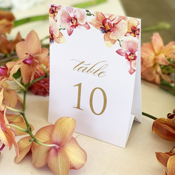 Peach-Orchid-Table-Number