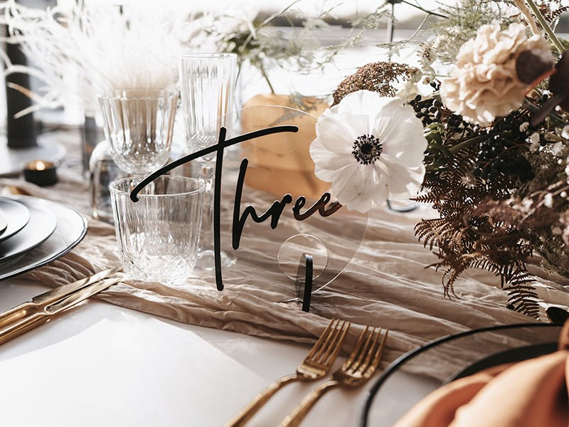 Modern Ethereal Styled Shoot
