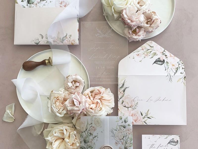 Aurora-Rose-acrylic-invitation
