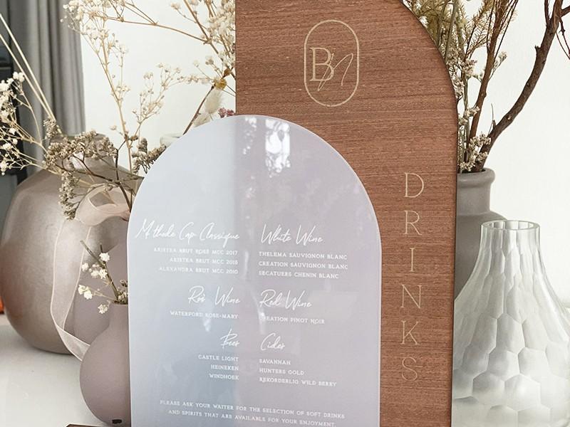 Acrylic-and-wood-signage