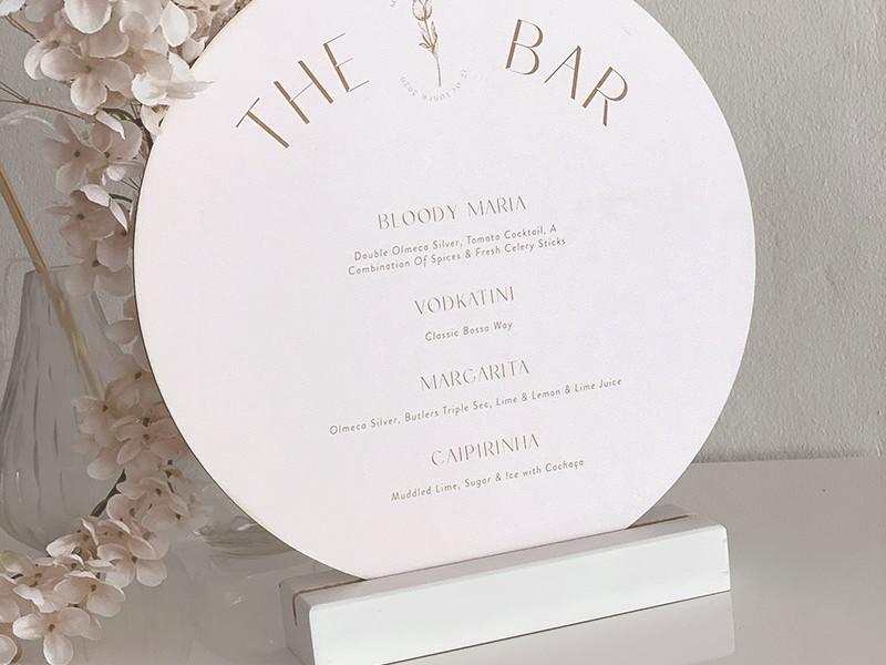 Round-bar-menu